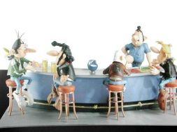 La scéne du bar