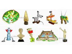 La série complète des objets du Mythe d'Astérix