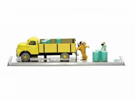 Le camion de la base