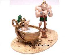 Le centurion Mordicus dans la baignoire