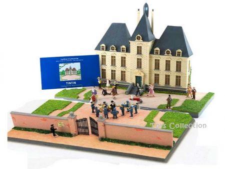 Le chateau de moulinsart figurine mini moulinsart r sine et plomb - Le chateau de moulinsart ...