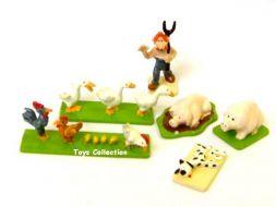 Le fermier et les animaux