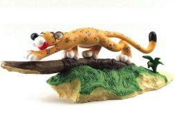 Le jaguar menaçant les Marsupilami