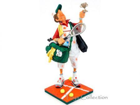Le joueur de tennis PM