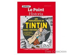 Le Point, les personnages de Tintin dans l'histoire Collector