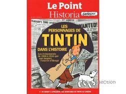 Le Point, les personnages de Tintin dans l'histoire