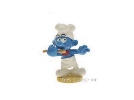 Le Schtroumpf cuisinier