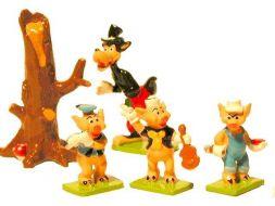 Les 3 petits cochons et le grand méchant loup