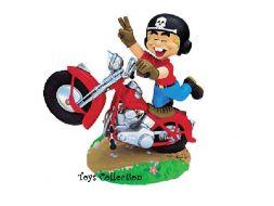 Litteul Kévin à moto