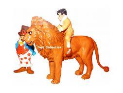 Little Némo sur le lion et Flip clown