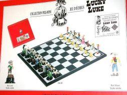 Lucky Luke Le jeu d'échecs