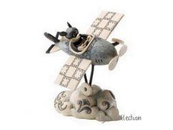 Mickey pilote d'un avion