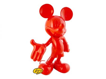 Mickey welcome rouge laqué