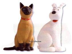 Milou et le chat de Moulinsart