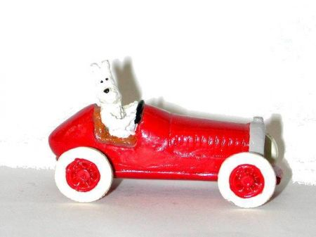 milou voiture a p dale figurine ancienne pixi 2 me s rie plomb. Black Bedroom Furniture Sets. Home Design Ideas