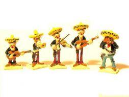 Mini. Les Daltons musiciens