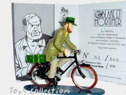 Mortimer à vélo