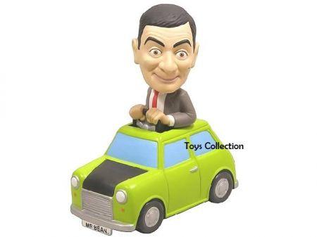 Mr Bean dans sa mini