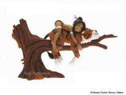Navis & Houyo sur l'arbre Versio Sépia