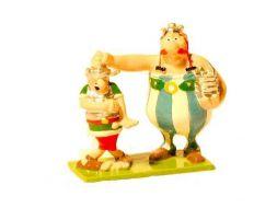 Obélix et le romain