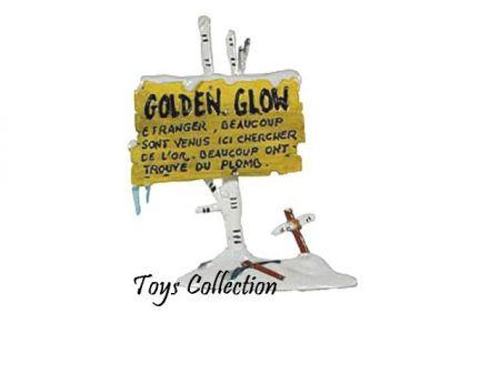 Panneau Golden Glow