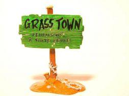 Panneau Grass Town