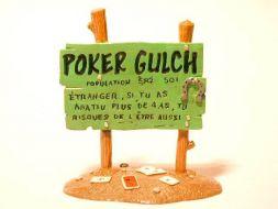 Panneau Poker Gulch