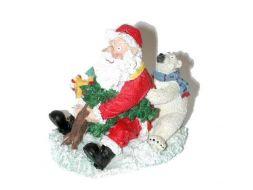 Père Noël en vacance