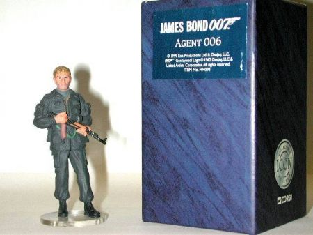 Personnage ''Agent 006'' James Bond 007