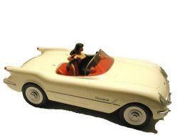 Pin'up dans la Corvette