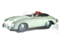 Pin'up de Berthet dans la Porsche Speeder