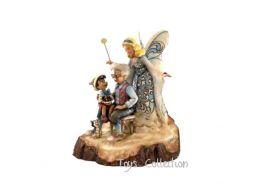 Pinocchio et la fée bleue