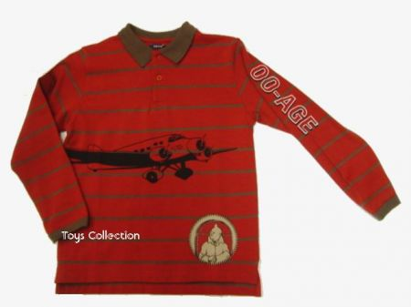 Polo Tintin avion 4 ans