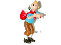 Porte-clé Tintin portant Milou