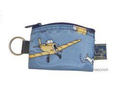 Porte monnaie Tintin bleu