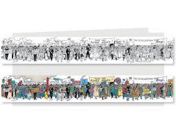 Poster frise Tintin