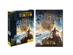 Puzzle les aventures de Tintin