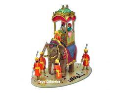 Scène de l'éléphant Altesse