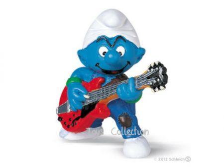 Schtroumpf guitariste