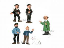 série complète de 6 figurines anciennes