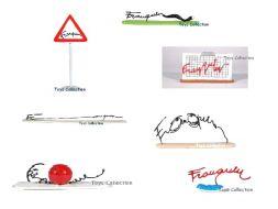 série des 7 nouvelles signatures Franquin