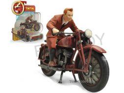 Set Tintin a moto et accessoires