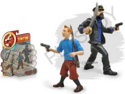 Set Tintin, Haddock et accessoires