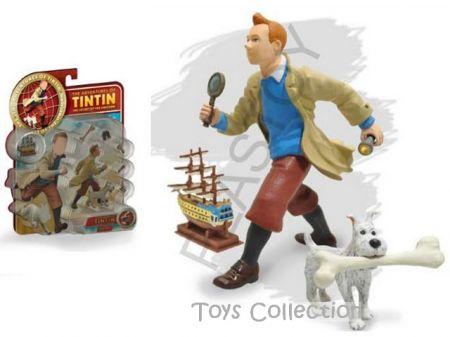 Set Tintin, Milou et accessoires