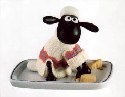 Shaun sur le plateau de fromage #
