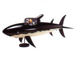 Sous marin requin Tintin #