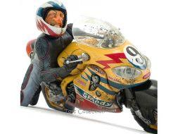 Speedy sur sa moto