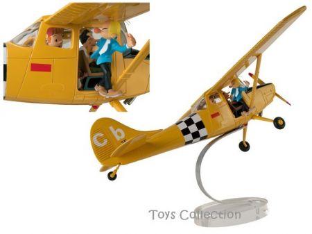 Spirou et Fantasio dans le Cessna
