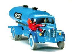 Spirou sur le camion Berliet