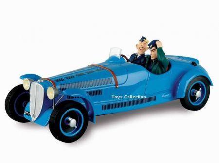 Tanguy et Laverdure dans le Roadster